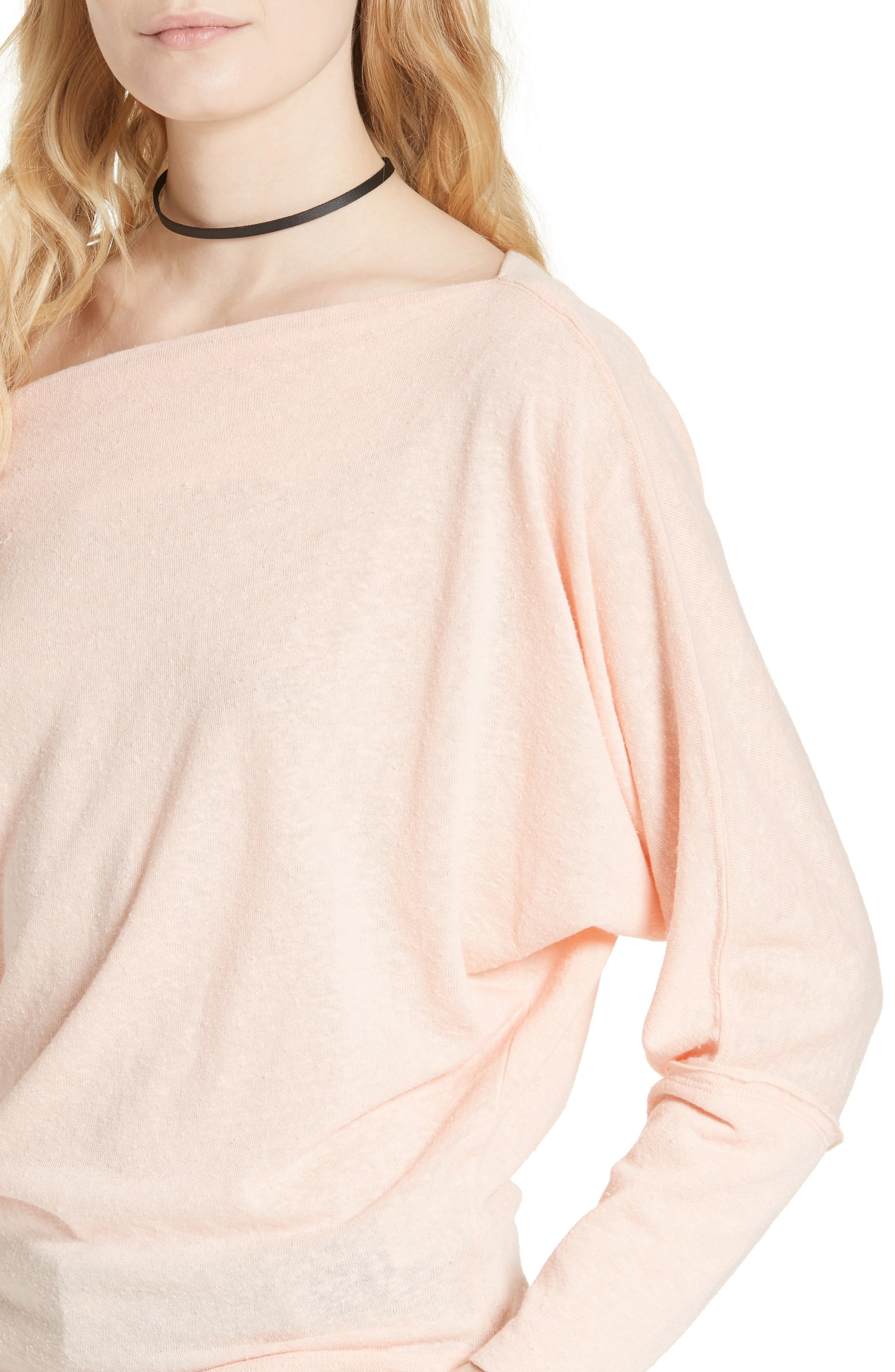 ,                             Valencia Off the Shoulder Pullover,                             Alternate thumbnail 56, color,                             950