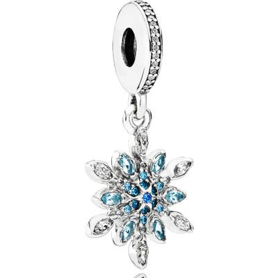 Pandora Crystallized Snowflake Dangle Charm