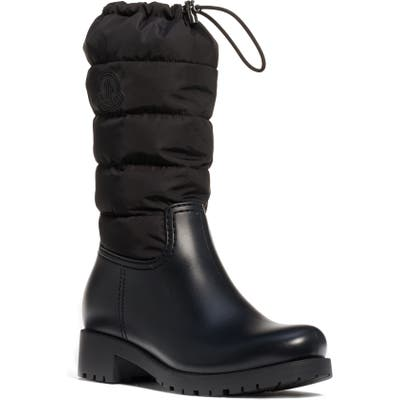 Moncler Ginette Puffer Boot, Black (Nordstrom Exclusive)