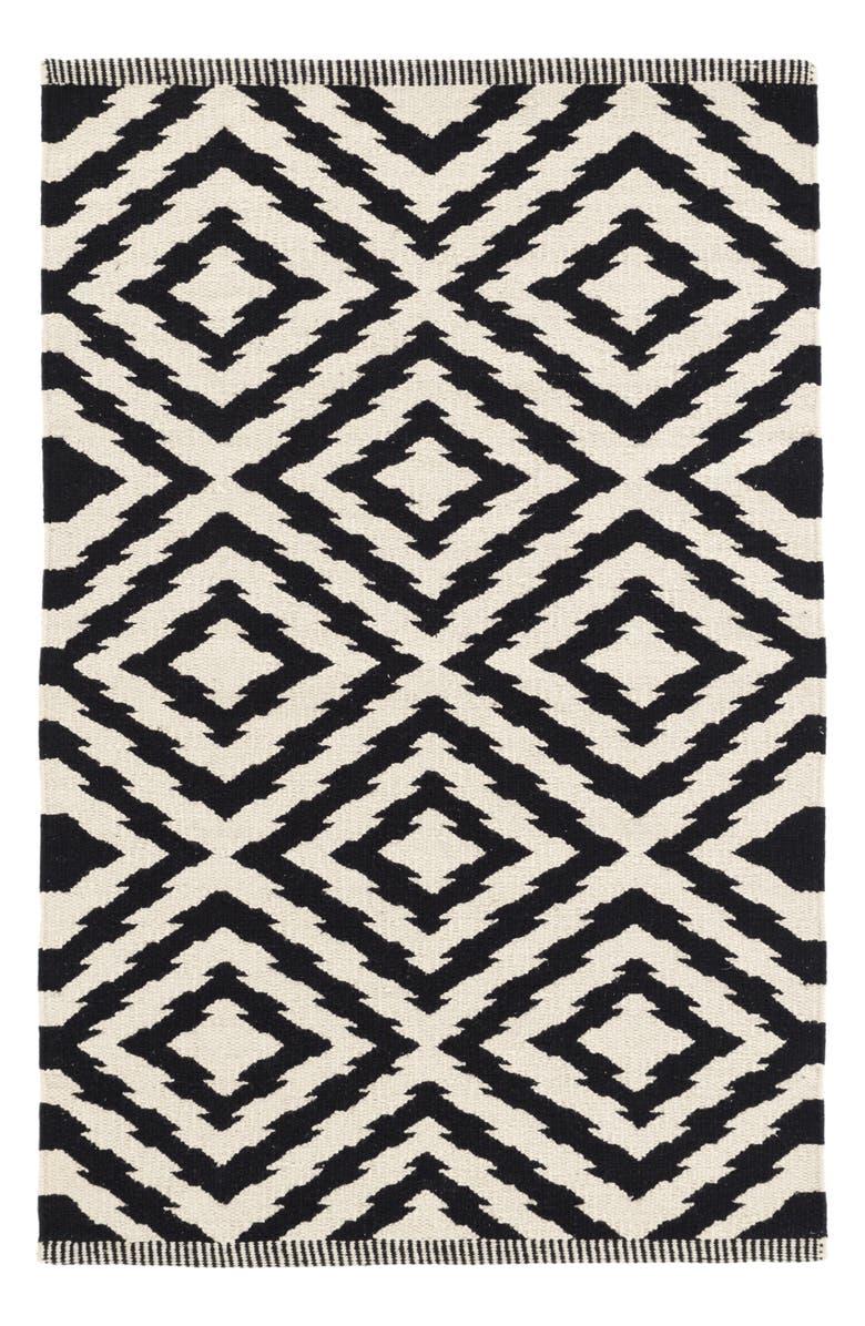 Clover Woven Cotton Rug by Dash & Albert