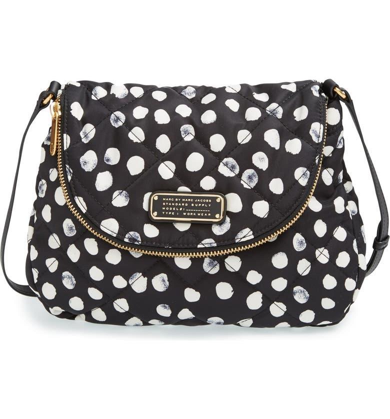 538122d1f5d MARC BY MARC JACOBS 'Crosby - Quilted Natasha' Nylon Crossbody Bag, Main,