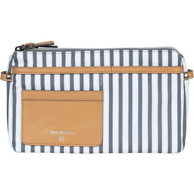 Infant Twelvelittle By My Side Water Resistant Nylon Belt Bag - Grey