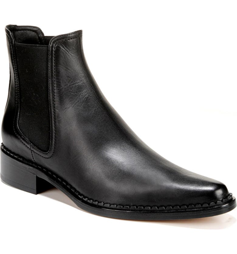 VINCE Denver Chelsea Boot, Main, color, BLACK LEATHER