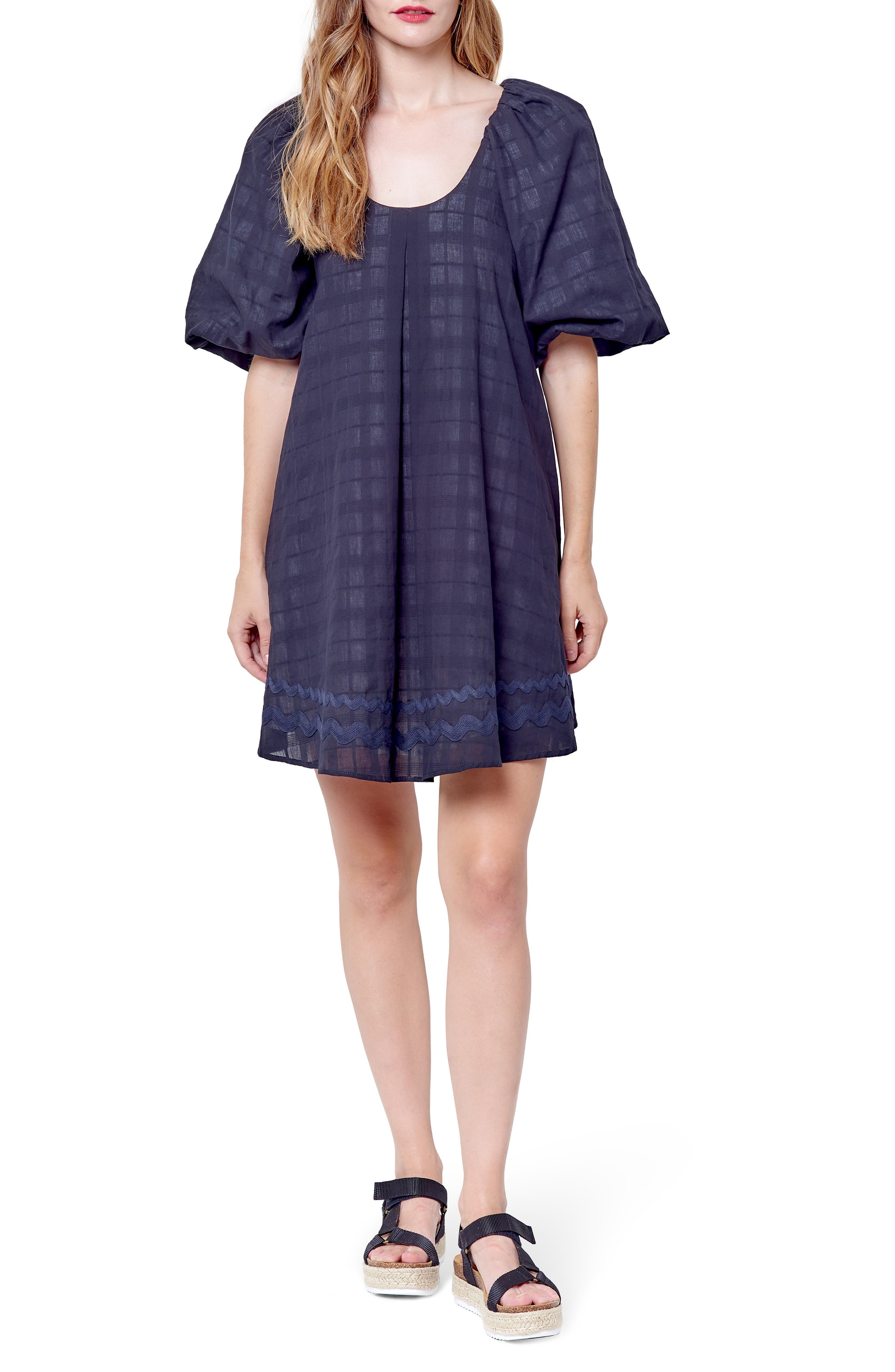Hariette Puff Sleeve Minidress