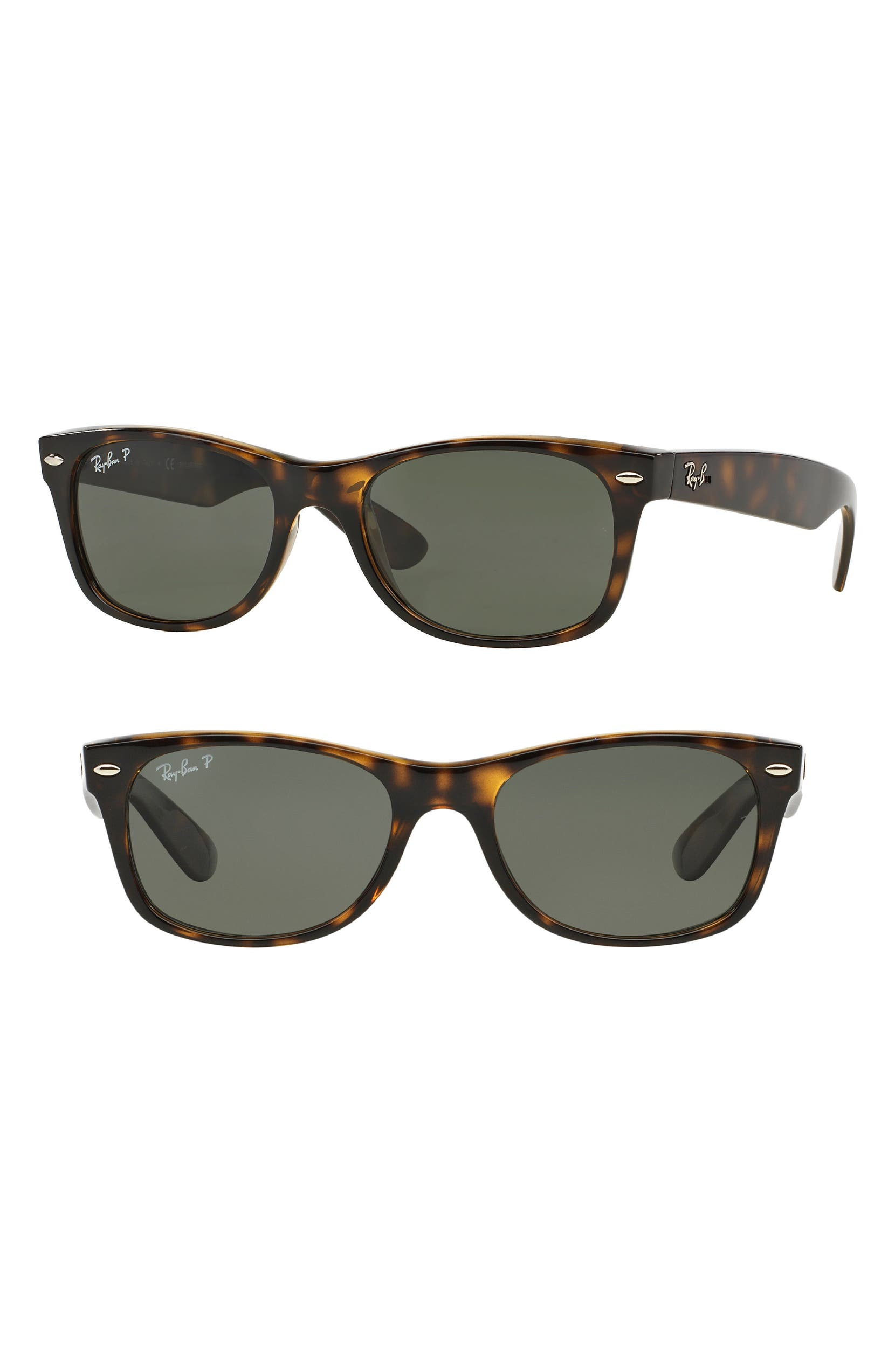 d36725a14 Ray-Ban Small New Wayfarer 52mm Polarized Sunglasses | Nordstrom