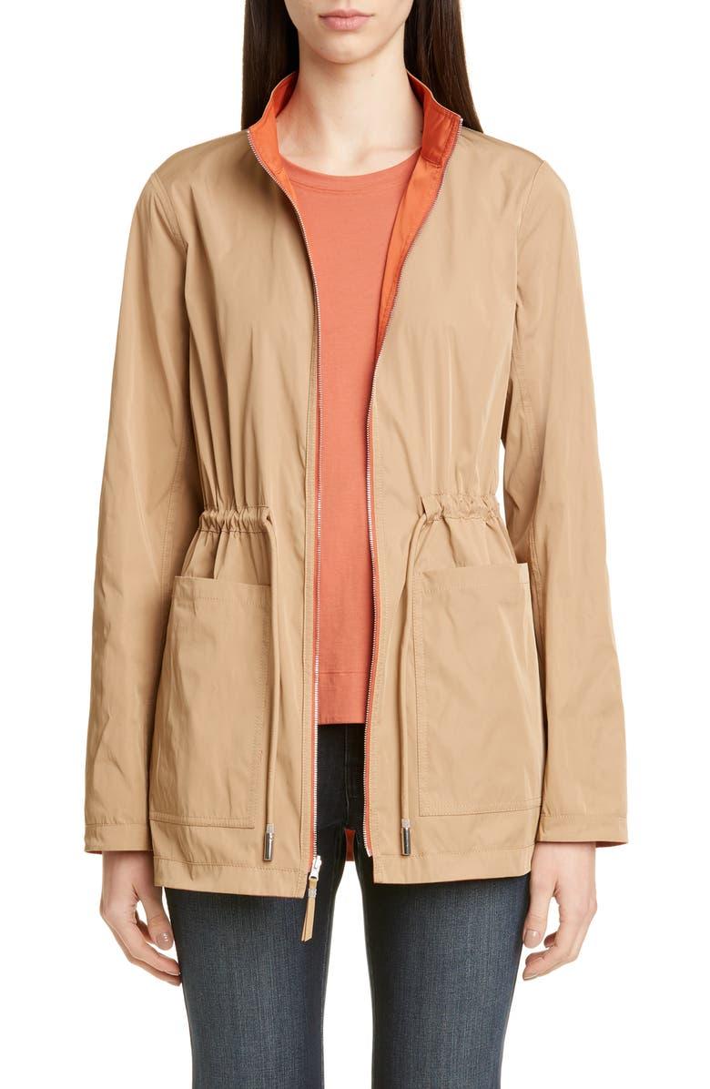 LAFAYETTE 148 NEW YORK Reversible Palomina Jacket, Main, color, SEDONA/ BIRCH