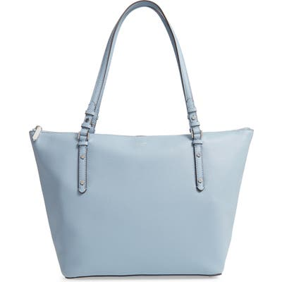 Kate Spade New York Large Polly Leather Tote - Blue