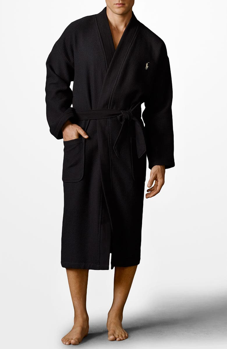 wide selection of colors fashion professional sale Polo Ralph Lauren Waffle Knit Robe | Nordstrom