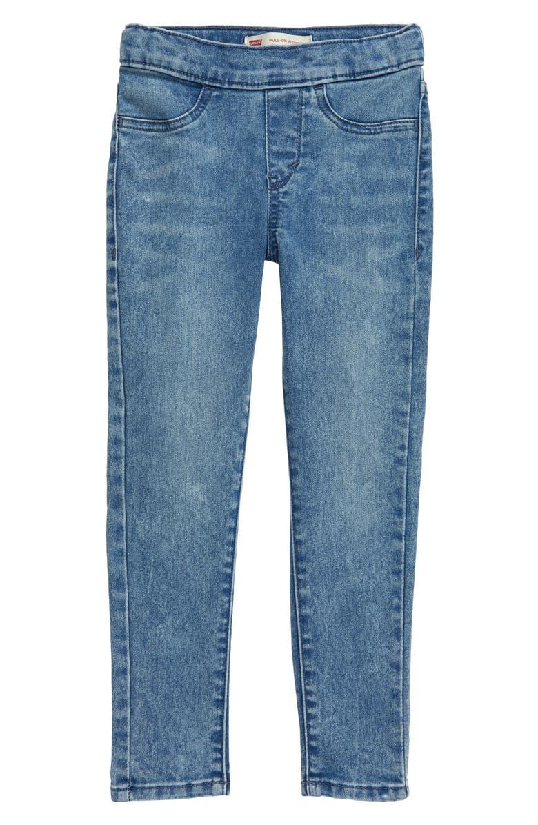 LEVI'S<SUP>®</SUP> Pull-On Denim Leggings, Main, color, L6OCEAN A