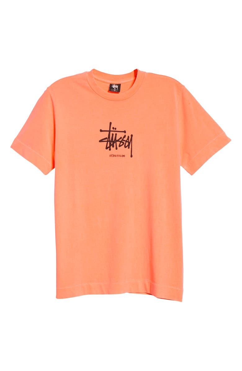 1017 ALYX 9SM x Stüssy Logo T-Shirt, Main, color, ORANGE