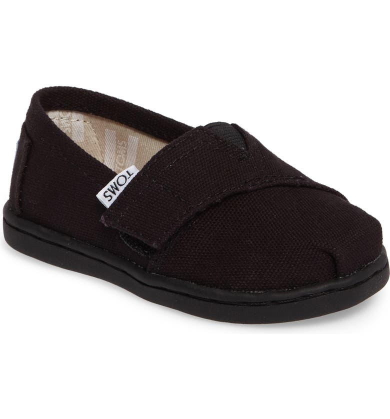 TOMS 2.0 Alpargata Slip-On, Main, color, BLACK CANVAS