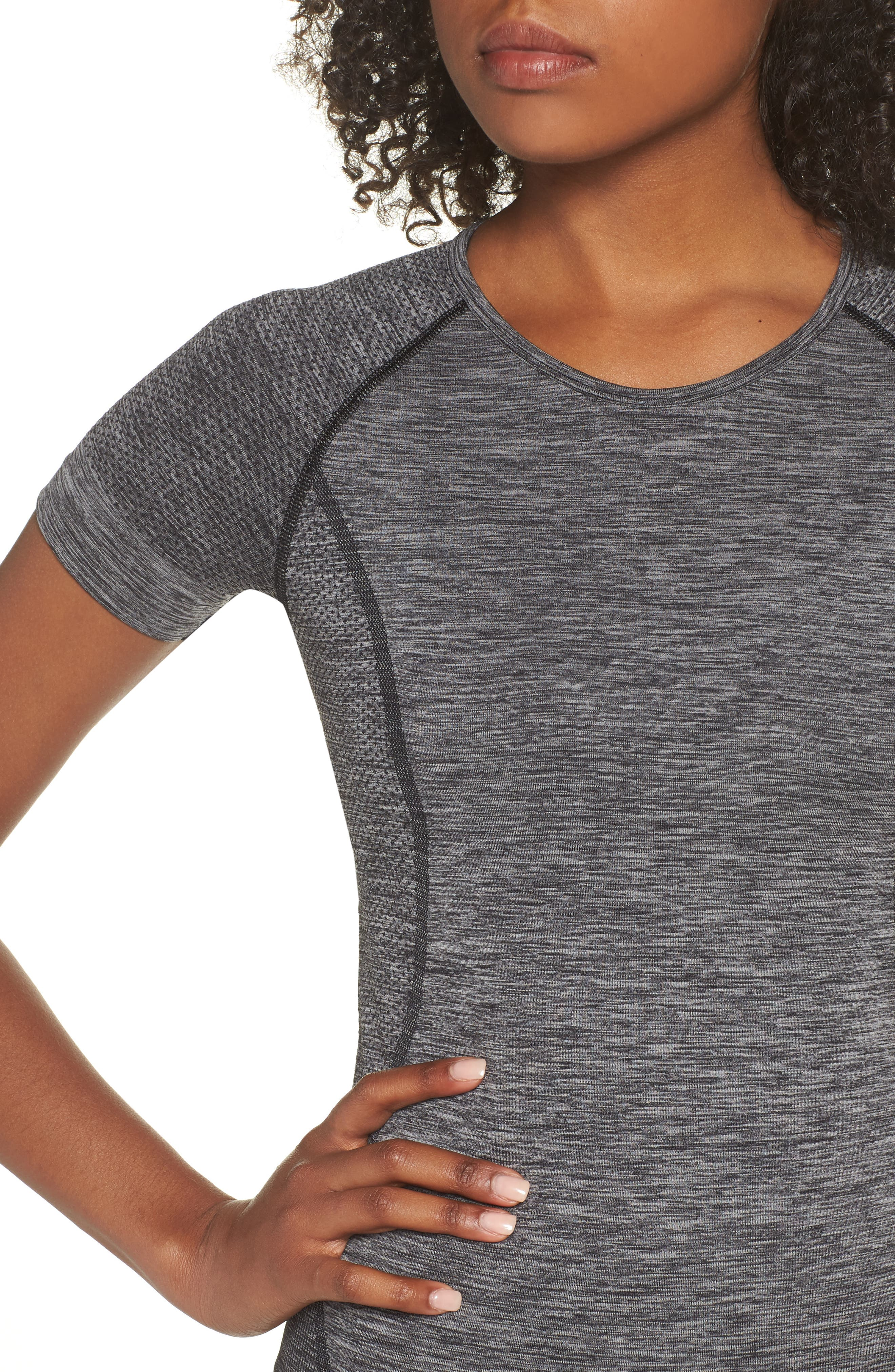 ,                             Stand Out Seamless Training Tee,                             Alternate thumbnail 53, color,                             001