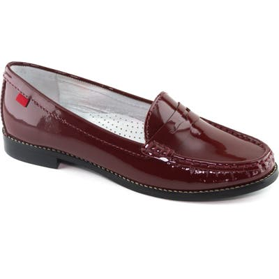 Marc Joseph New York East Village Penny Loafer, Red