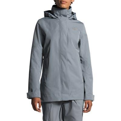 The North Face Westoak City Waterproof & Windproof Coat, Grey