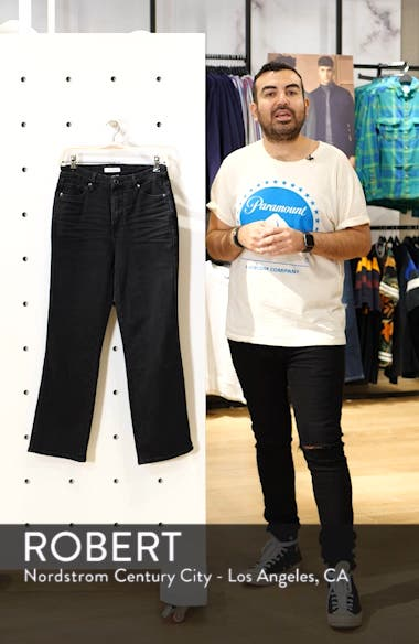 Good Curve High Waist Straight Leg Jeans, sales video thumbnail