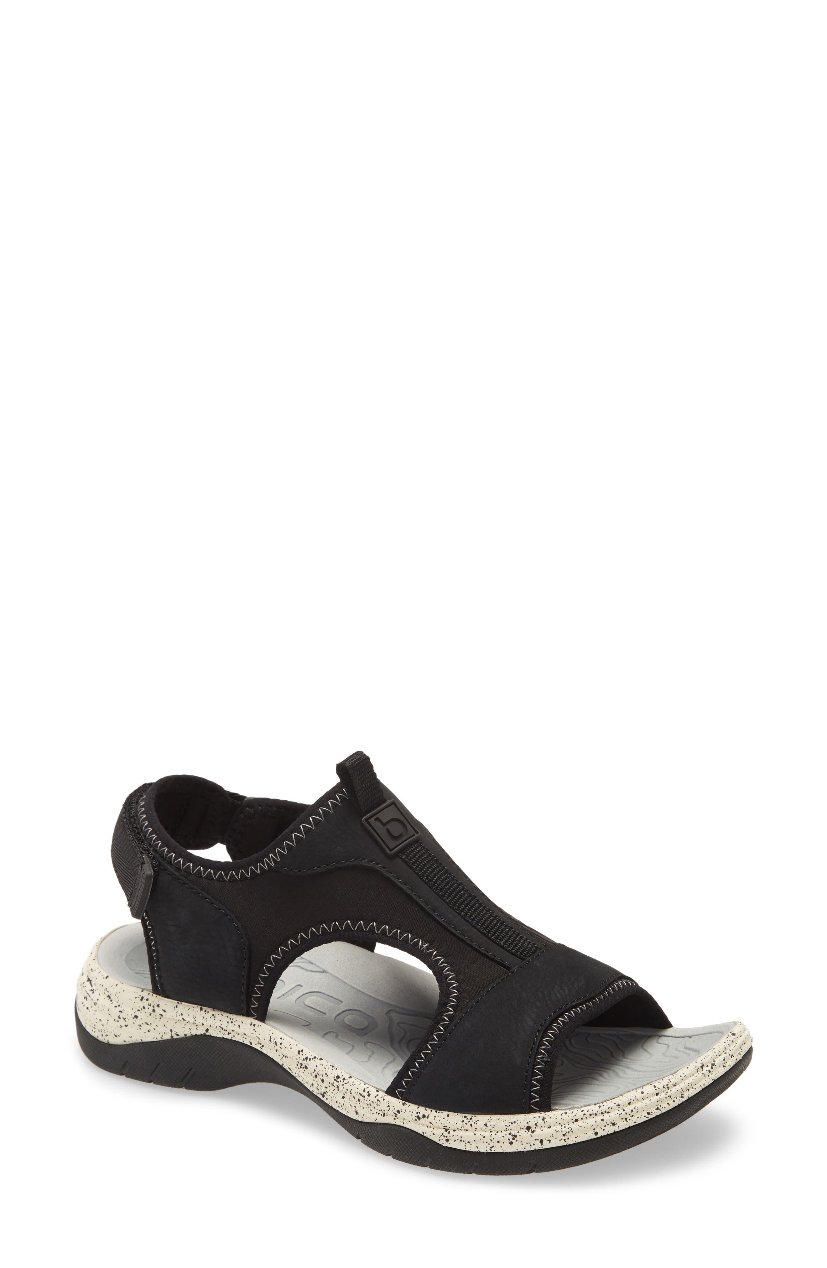 Women's Bionica Niagra Water Friendly Sport Sandal, Size 7.5 M - Black