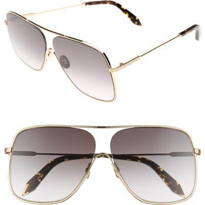 Victoria Beckham Loop 61Mm Navigator Sunglasses - Galaxy