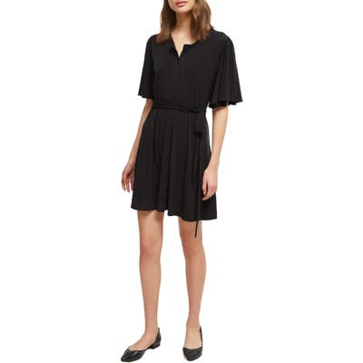 French Connection Serafina Shirtdress, Black