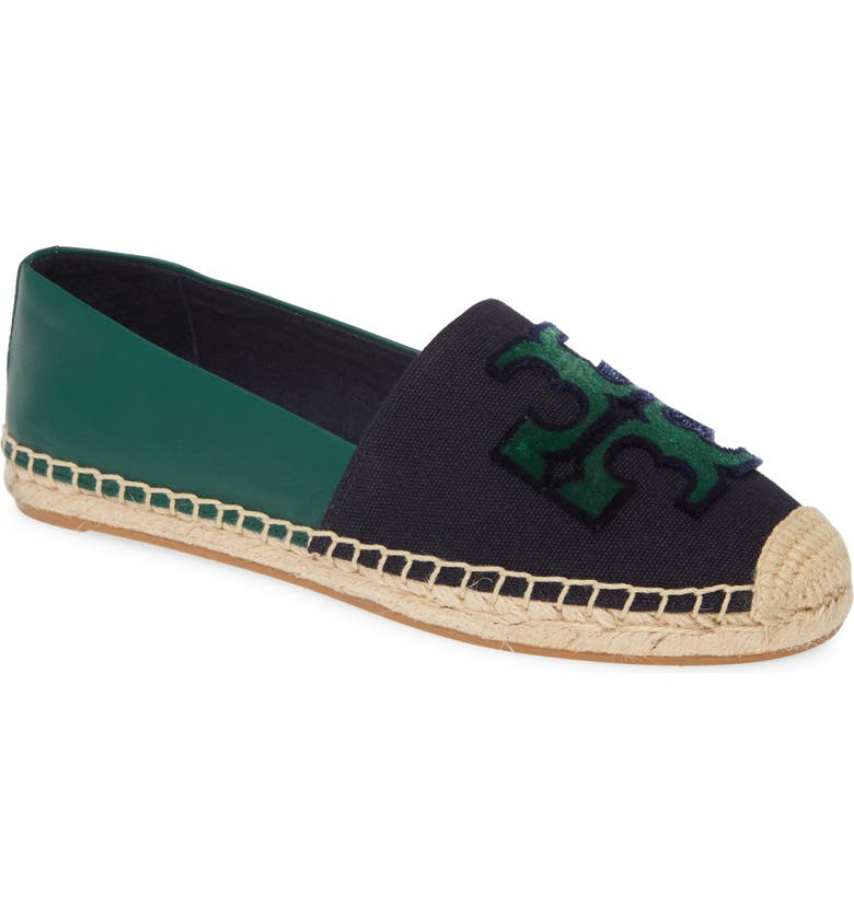 TORY BURCH Ines Espadrille, Main, color, ROYAL NAVY / MALACHITE