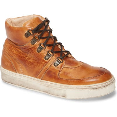 Bed Stu Honor High Top Sneaker, Brown