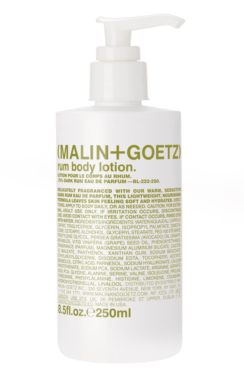 MALIN+GOETZ Rum Body Lotion, Main, color, NO COLOR