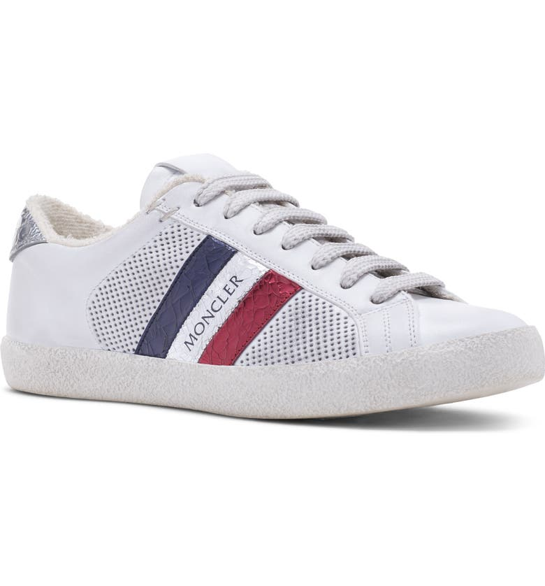 MONCLER Ryegrass Sneaker, Main, color, WHITE
