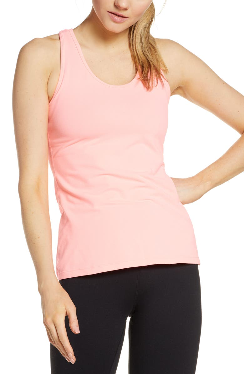 ZELLA Resolve Racerback Tank, Main, color, 660