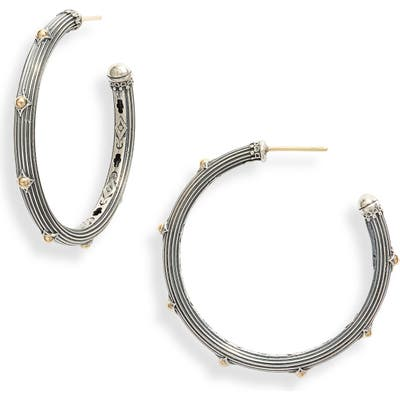 Konstantino Delos Hoop Earrings