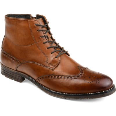 Thomas And Vine Ryker Wingtip Boot, Brown
