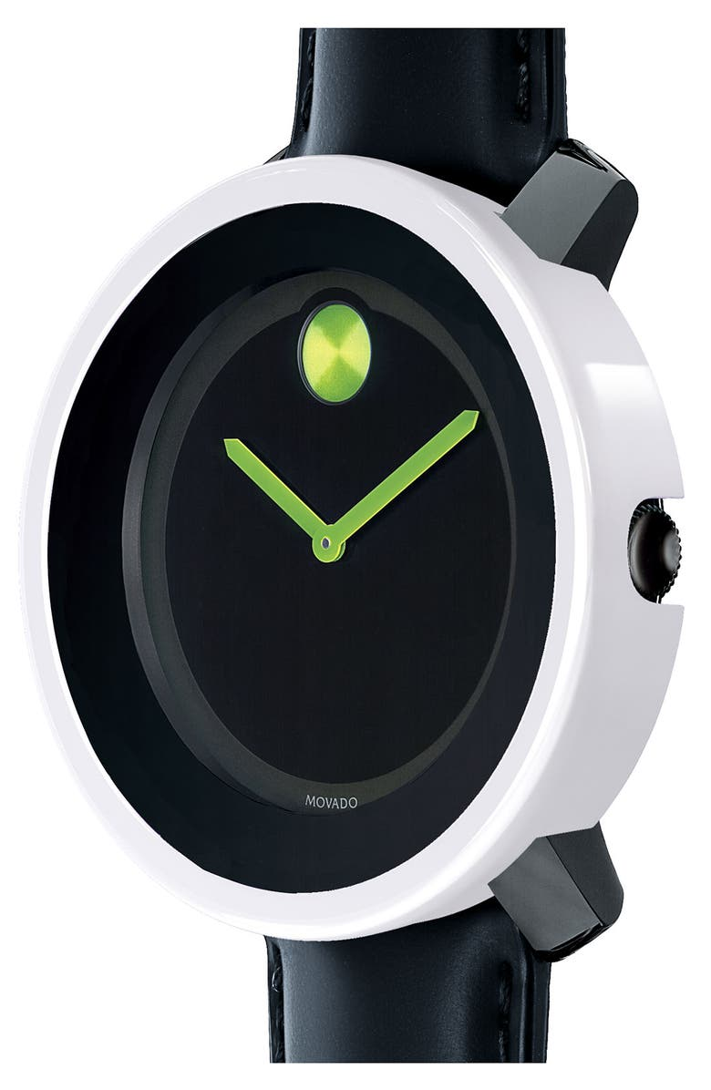 MOVADO 'Large Bold' Watch, 42mm, Main, color, 001