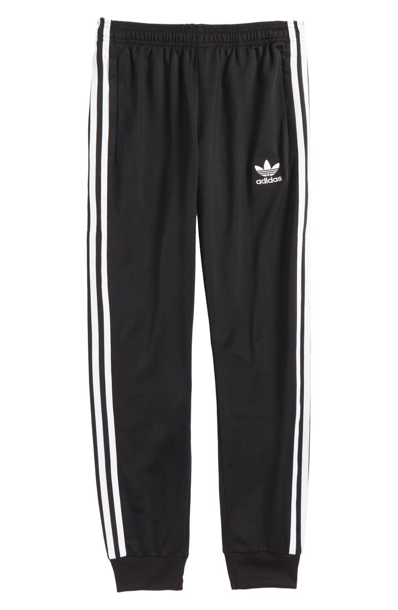 ADIDAS ORIGINALS SST Track Pants, Main, color, 001