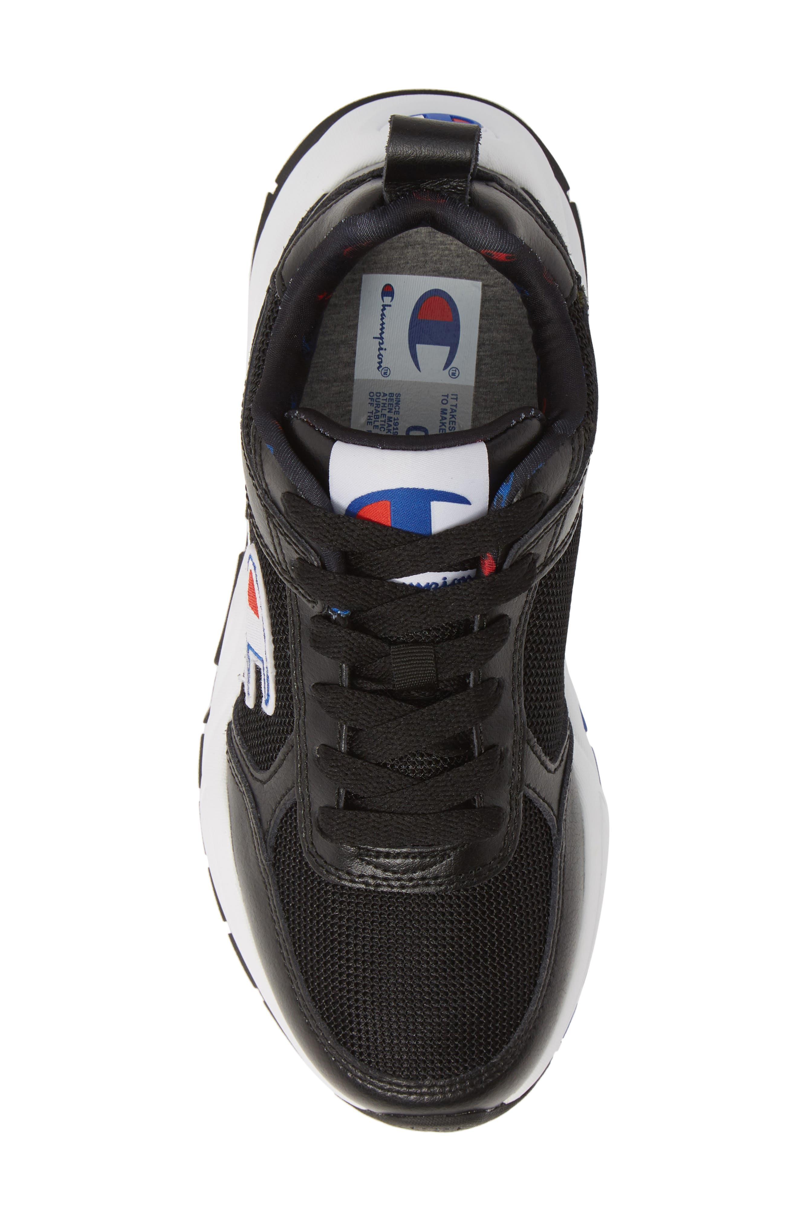 ,                             93 Eighteen Classic Sneaker,                             Alternate thumbnail 5, color,                             BLACK