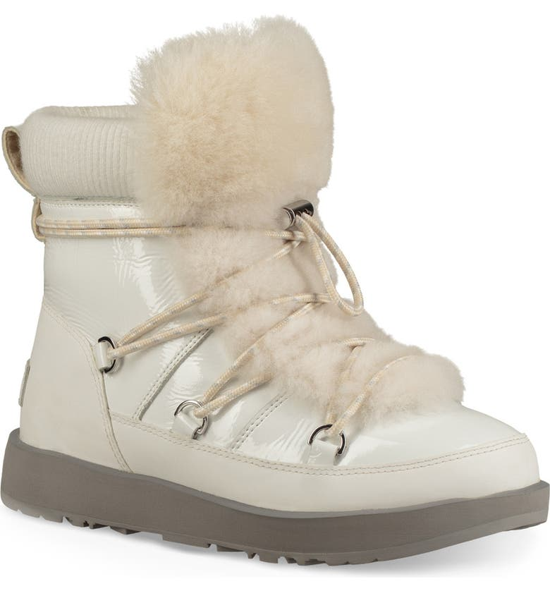 e28bfd0b945 Highland Genuine Shearling Waterproof Bootie