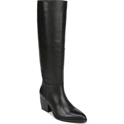 Naturalizer Fae Tall Boot, Regular Calf- Black