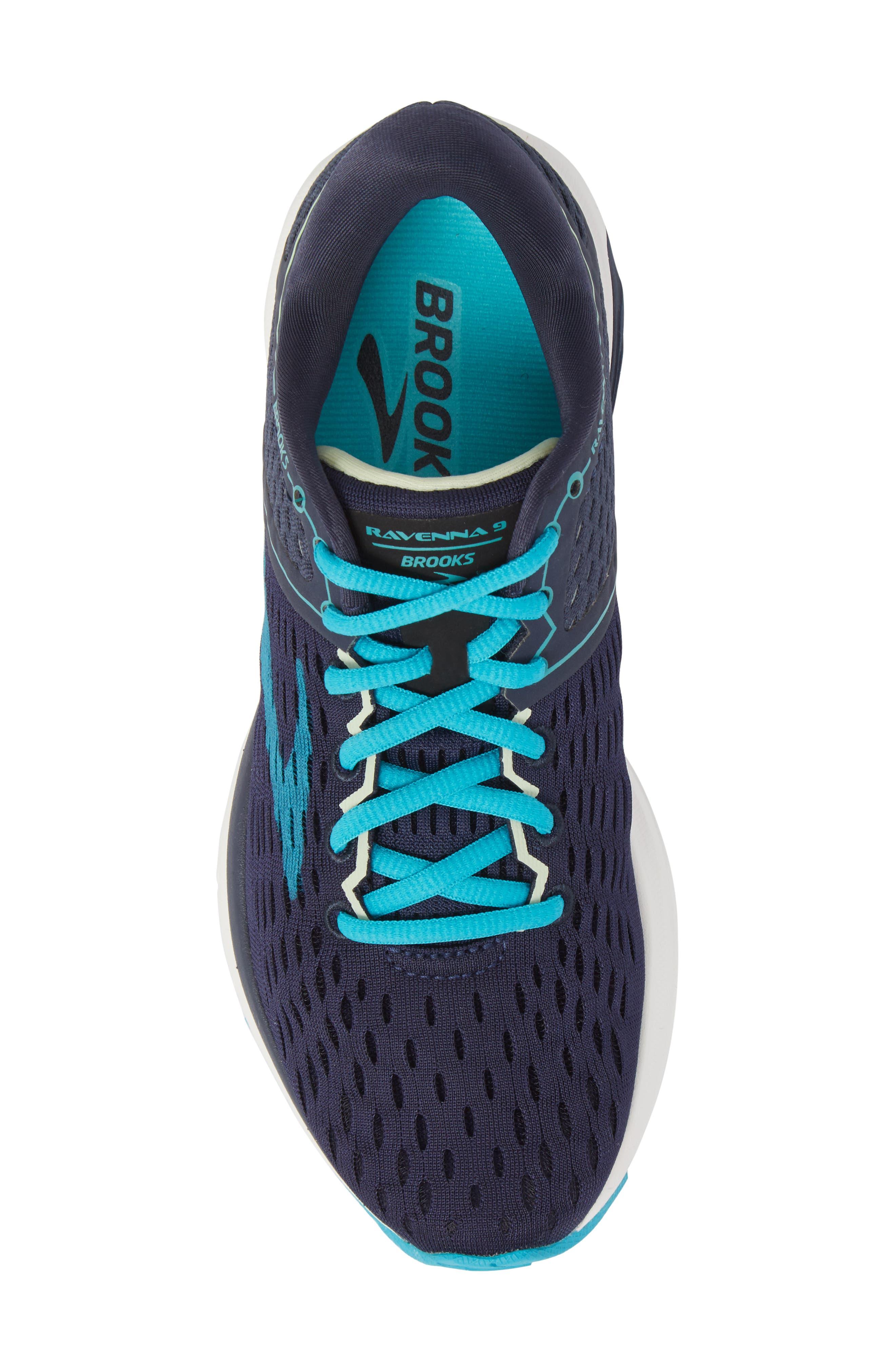 ,                             Ravenna 9 Running Shoe,                             Alternate thumbnail 5, color,                             NAVY/ BLUE/ GREEN