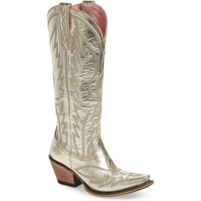 Lane Boots Nighthawk Metallic Western Boot