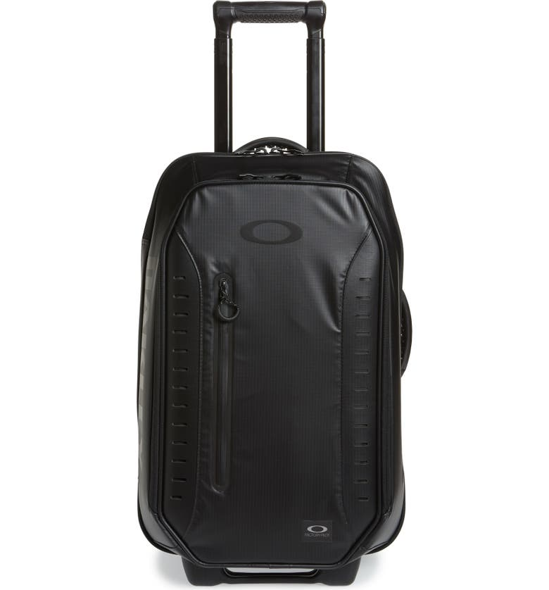 OAKLEY FP 45L Rolling Duffle Carry-On, Main, color, BLACKOUT