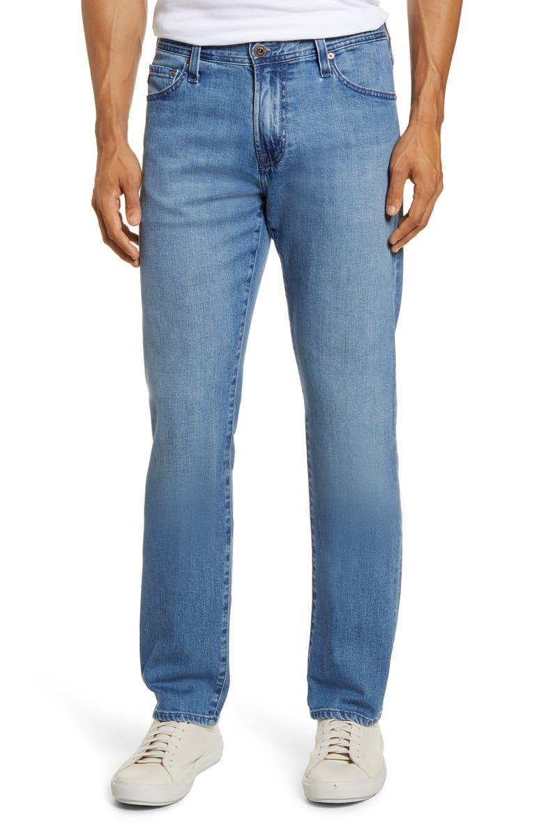 AG Graduate Slim Straight Jeans, Main, color, OBSTRUCT