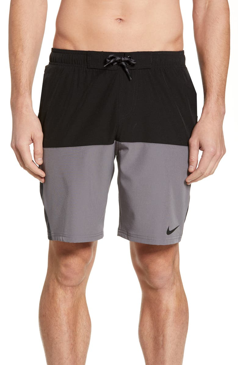 NIKE Split Volley Shorts, Main, color, 001