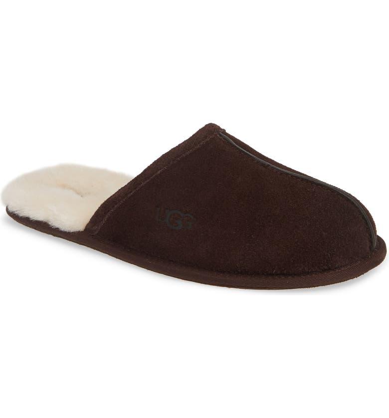UGG<SUP>®</SUP> Scuff Slipper, Main, color, ESPRESSO BROWN
