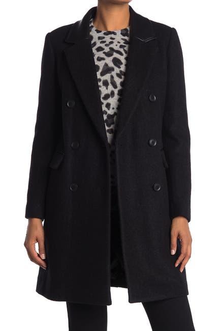 Image of BCBGMAXAZRIA Double Breasted Coat