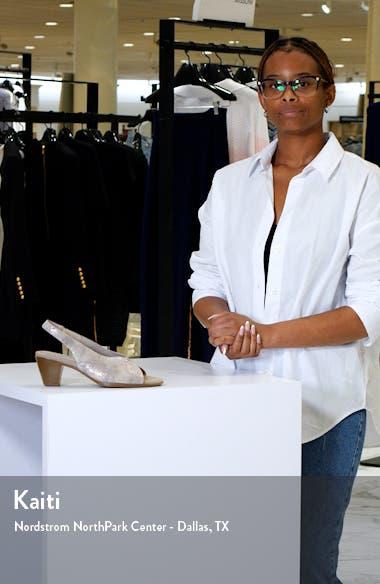 Rochelle Slingback Sandal, sales video thumbnail