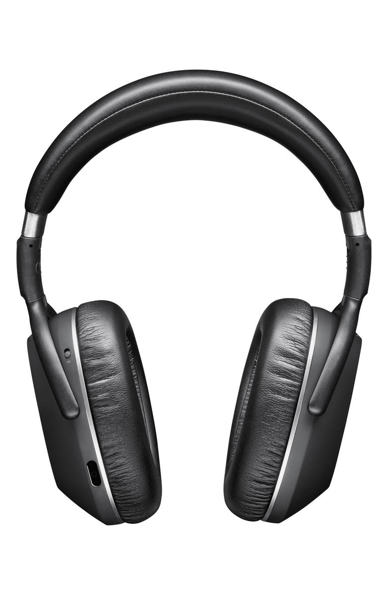 SENNHEISER PXC 550 Wireless Bluetooth<sup>®</sup> Over-Ear Noise Cancelling Headphones, Main, color, BLACK/ SILVER