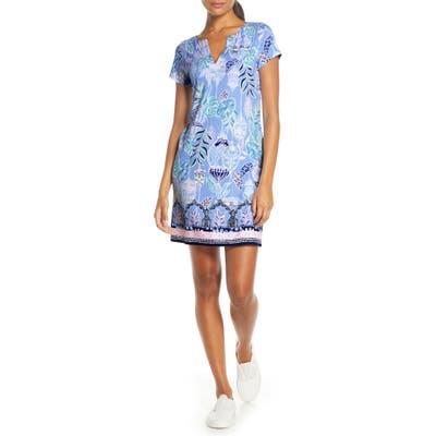 Lilly Pulitzer Sophiletta Upf 50+ Shift Minidress, Blue