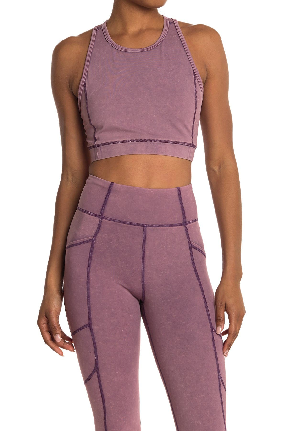 Image of Threads 4 Thought Kensi Mineral Wash Sports Bra
