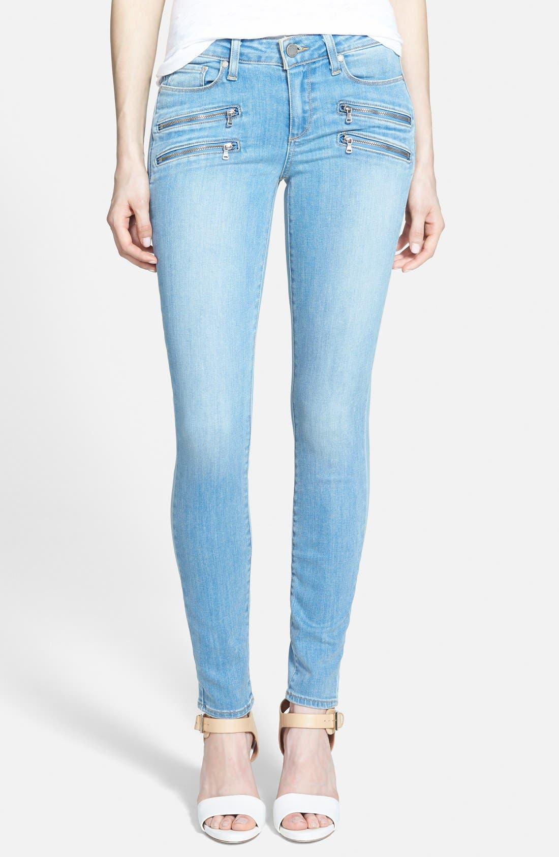 ,                             Denim 'Edgemont' Ultra Skinny Jeans,                             Main thumbnail 1, color,                             400