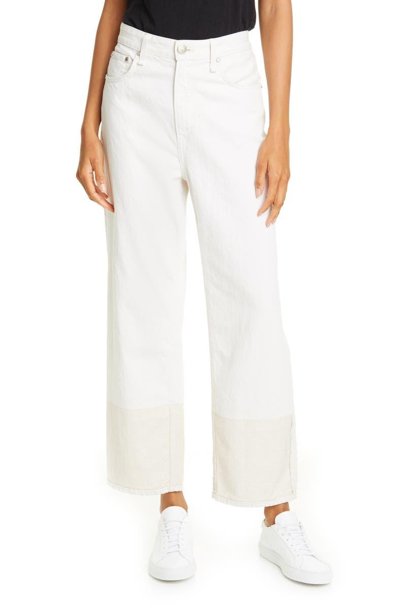RAG & BONE Ruth Super High Waist Straight Leg Jeans, Main, color, 102