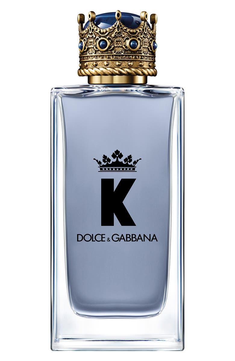 DOLCE&GABBANA K by Dolce&Gabbana Eau de Toilette, Main, color, NO COLOR