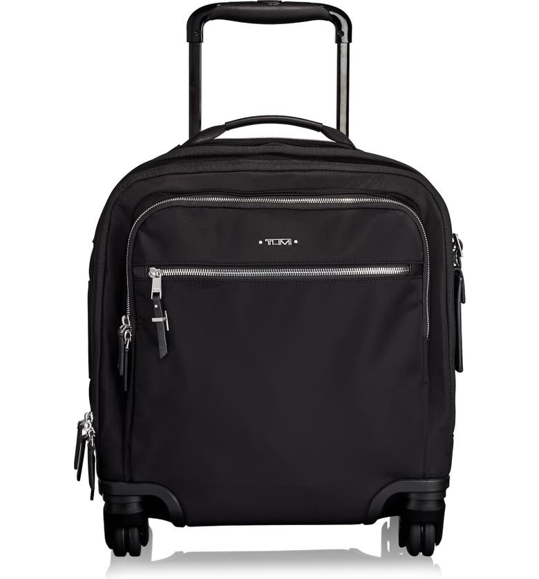 TUMI Voyageur Osona 16-Inch Wheeled Carry-On, Main, color, BLACK/ SILVER