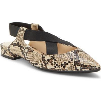 Jessica Simpson Lurina Pointy Toe Flat, Beige